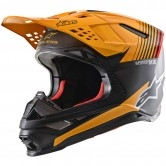 ALPINESTARS Supertech S-M10 2020 Dyno Black Carbon / Orange