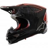 Supertech S-M10 Alloy Black / Orange Fluo / Red Matt & Glossy