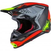 ALPINESTARS Supertech S-M10 Anaheim 1 LE Red Fluo / Black Carbon / Yellow Fluo