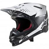 Supertech S-M10 Dyno Black / Matt Carbon / White