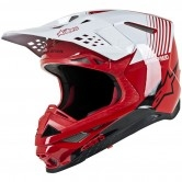 ALPINESTARS Supertech S-M10 Dyno Red / White Glossy
