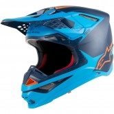 ALPINESTARS Supertech S-M10 Meta Black / Aqua / Orange Fluo