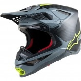 ALPINESTARS Supertech S-M10 Meta Black / Grey / Yellow Fluo