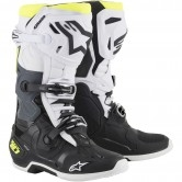 ALPINESTARS Tech 10 Black / White / Yellow Fluo