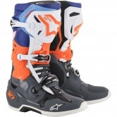 ALPINESTARS Tech 10 Cool Grey / Orange Fluo / Blue / White