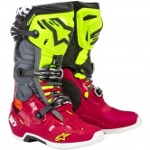 ALPINESTARS Tech 10 Anaheim 1 LE Red / Black / Yellow Fluo