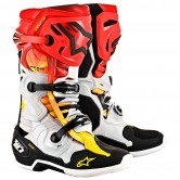 ALPINESTARS Tech 10 Indy LE Black / Metallic / Red / Yellow