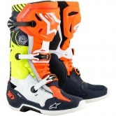 ALPINESTARS Tech 10 Nations19 LE Dark Blue / Orange / Yellow Fluo