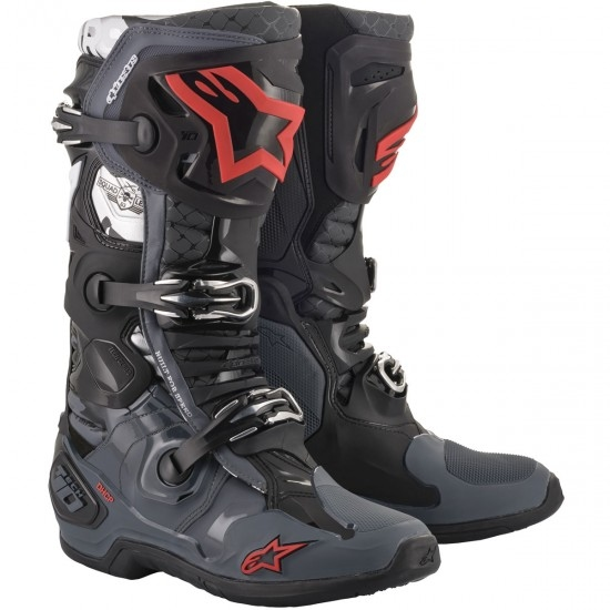 Botas ALPINESTARS Tech 10 2020 San Diego 20 LE Black / Gray / Red