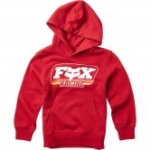 FOX Throwback Pullover Junior Cardinal