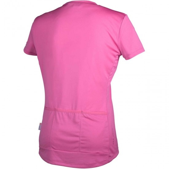 Maillot POC Trail Light Zip Lady Actinium Pink