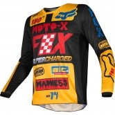 FOX 180 2019 Kids Czar Black / Yellow