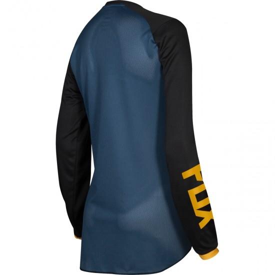 Camiseta FOX 180 2019 Lady Junior Mata Black / Navy