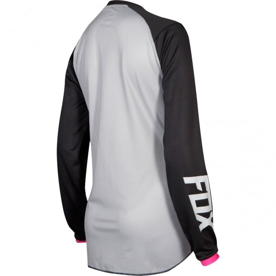 FOX 180 2019 Lady Junior Mata Black / Pink Jersey