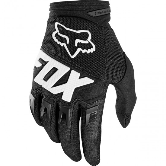Guanto FOX Dirtpaw Junior Race Black