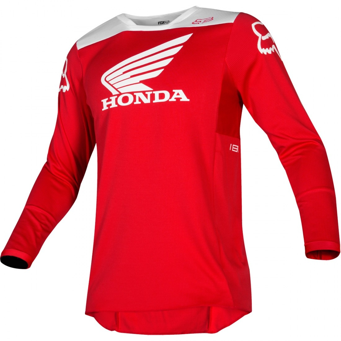 Camiseta FOX 180 2019 Honda Red · Motocard 071c689a316