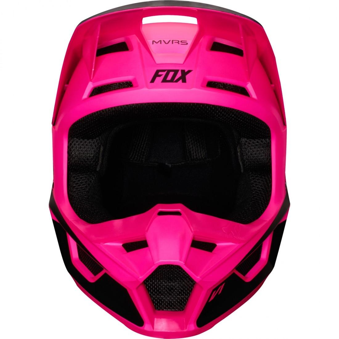 3242e5ea FOX V1 Przm 2019 Junior Black / Pink Helmet · Motocard