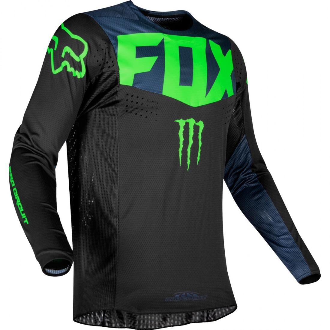 61c83dae5 FOX 360 2019 Pro Circuit Black Jersey · Motocard