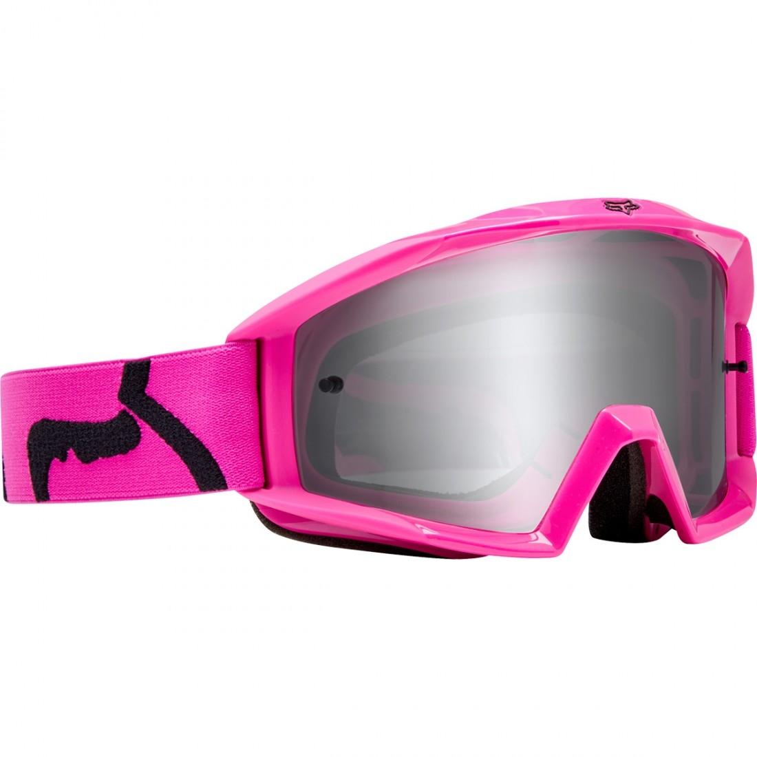 Óculos FOX Main Junior Race Pink   Clear · Motocard 742b865bb6