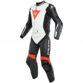 DAINESE Avro D-Air Black / White / Fluo-Red