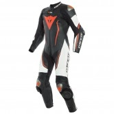 DAINESE Misano 2 D-Air Professional Estiva Black / White / Fluo-Red
