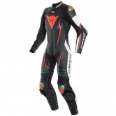 DAINESE Misano 2 D-Air Professional Estiva Lady Black / White / Fluo-Red