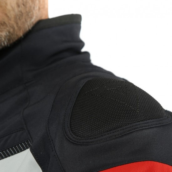 Chaqueta DAINESE Carve Master 2 D-Air Gore-Tex Black / Light-Grey / Red