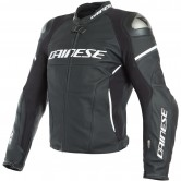 DAINESE Racing 3 D-Air Black-Matt / Black-Matt / White