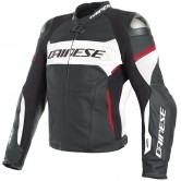 DAINESE Racing 3 D-Air Black / White / Lava-Red