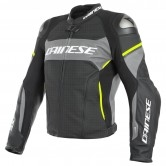 DAINESE Racing 3 D-Air Estiva Black / Harcoal Grey / Fluo-Yellow