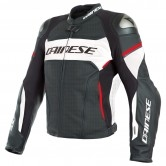 DAINESE Racing 3 D-Air Estiva Black / White / Lava-Red