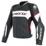 Chaqueta DAINESE Racing 3 D-Air Estiva Black / White / Lava-Red
