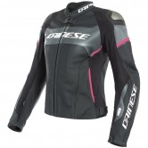 DAINESE Racing 3 Lady D-Air Black / Anthracite / Fuchsia