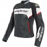 DAINESE Racing 3 Lady D-Air Black / White / Lava-Red