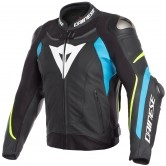 DAINESE Super Speed 3 Black / Fire-Blue / Fluo-Yellow