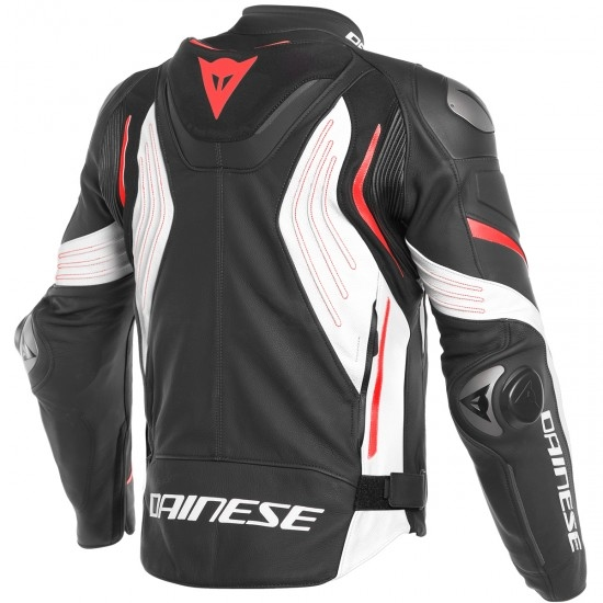 Giacca DAINESE Super Speed 3 Black / White / Fluo-Red