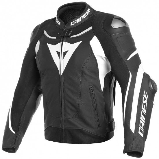 Giacca DAINESE Super Speed 3 Black / White / White