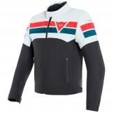 DAINESE 8-Track Tex Black / Ice / Red
