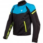 DAINESE Bora Air Tex Black / Fire-Blue / Fluo-Yellow