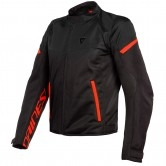 DAINESE Bora Air Tex Black / Fluo-Red