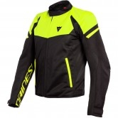 DAINESE Bora Air Tex Black / Fluo-Yellow