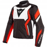 DAINESE Edge Tex Black / White / Fluo-Red