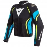 DAINESE Estrema Air Tex Black / Fire-Blue / Fluo-Yellow