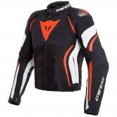 DAINESE Estrema Air Tex Black / White / Fluo-Red