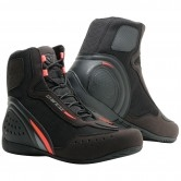 DAINESE Motorshoe D1 Air Black / Fluo-Red / Anthracite