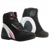 DAINESE Motorshoe D1 Air Lady Black / White / Fucsia