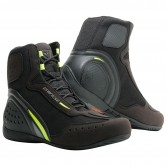 DAINESE Motorshoe D1 D-WP Black / Fluo-Yellow / Anthracite