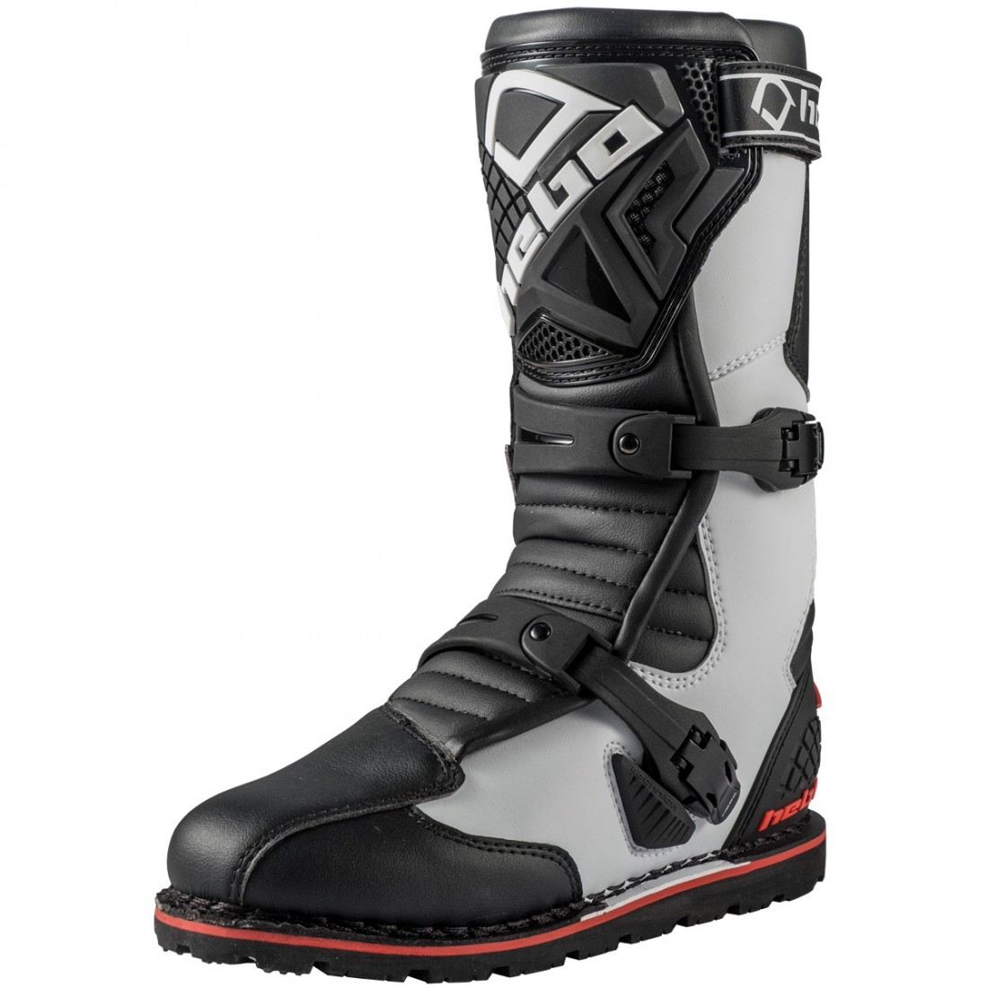 HEBO Technical 2.0 Micro White Black Boots