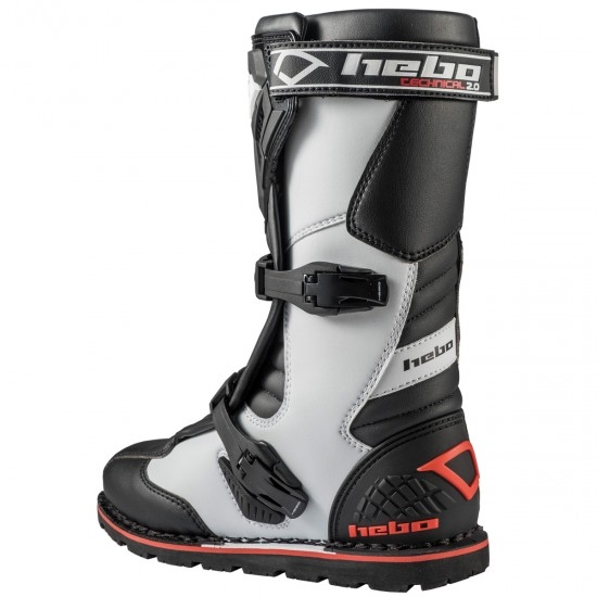 HEBO Technical 2.0 Micro White / Black Boots