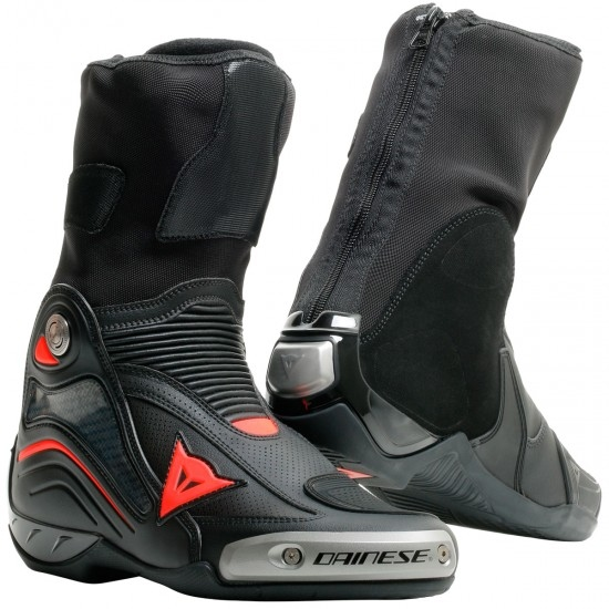 DAINESE Axial D1 Air Black / Red Fluo Boots